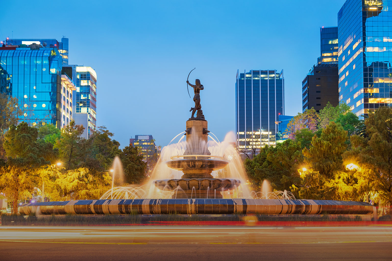LADW Diana Brunnen Mexico Stadt