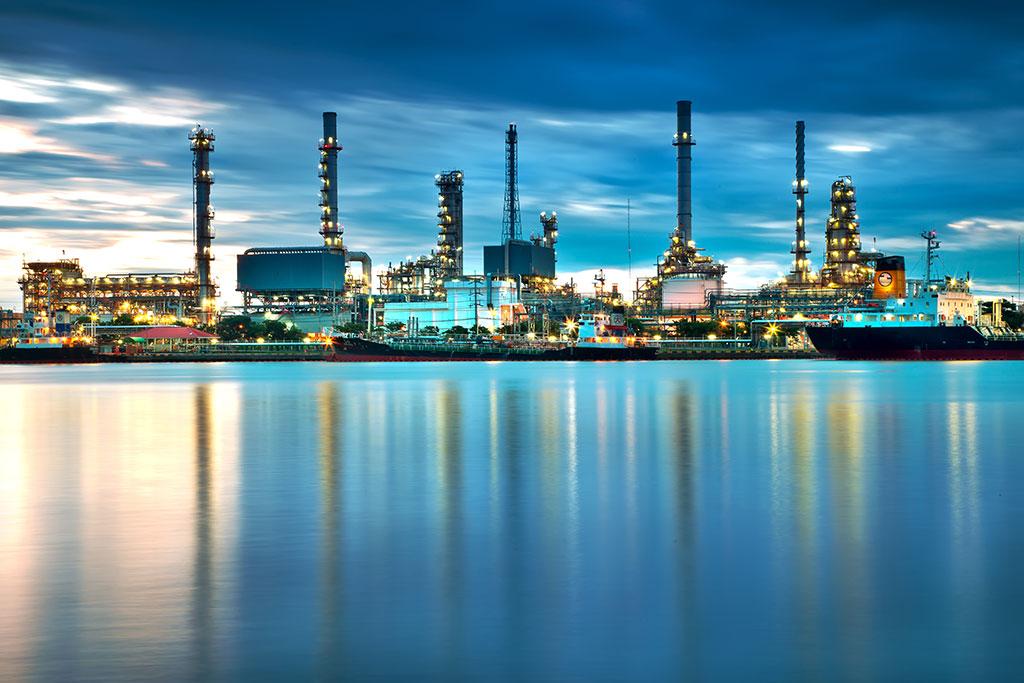 LADW Öl Raffinerie