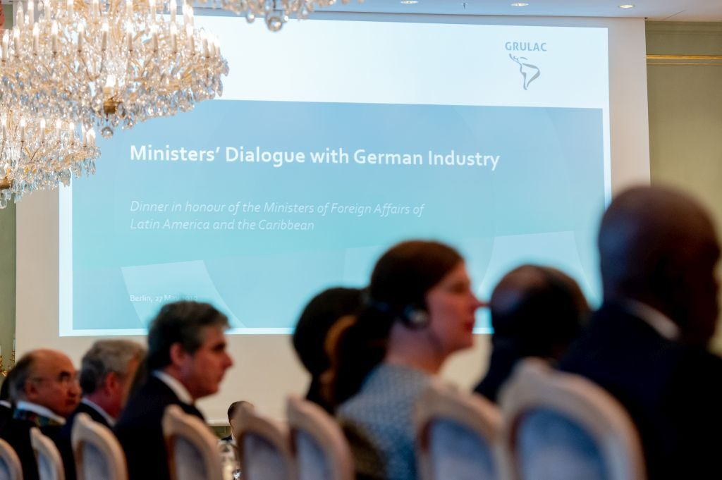 Ministers' Dialogue with German Industry