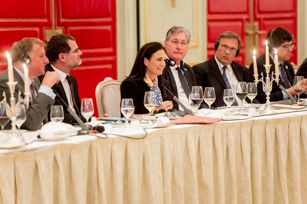 Panama's Vice-President Isabel Saint Malo