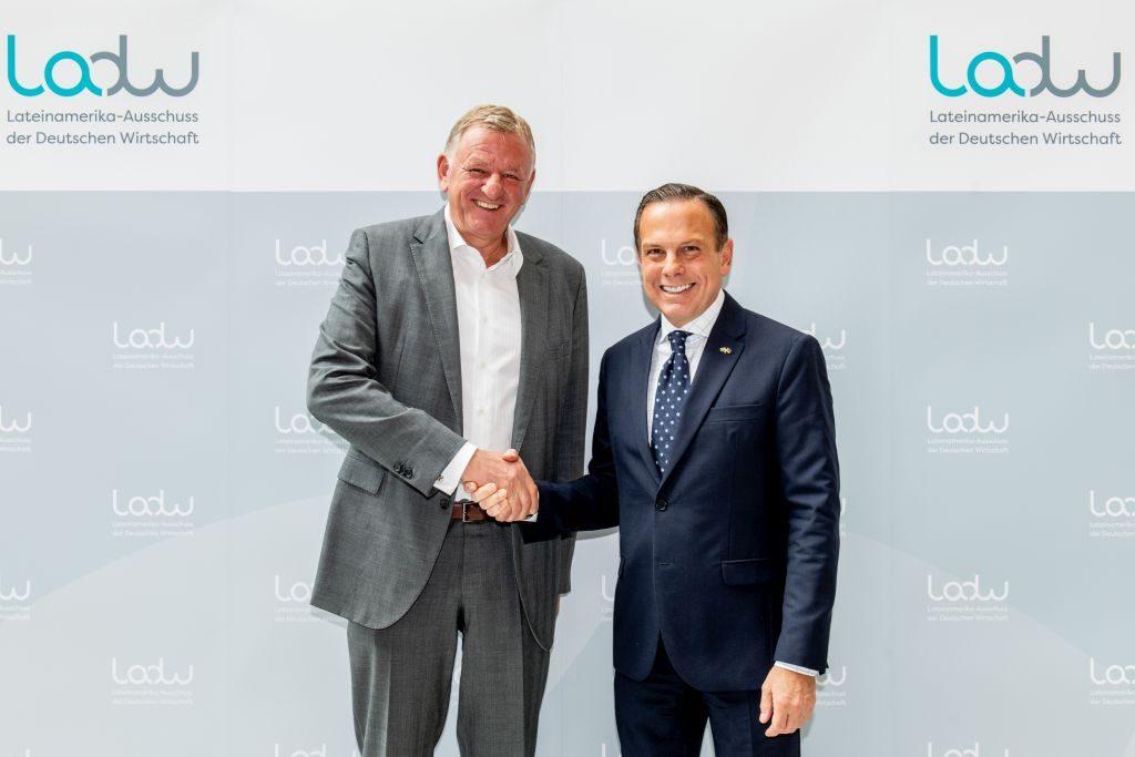 LADW-Vorsitzender und Gouverneur Doria