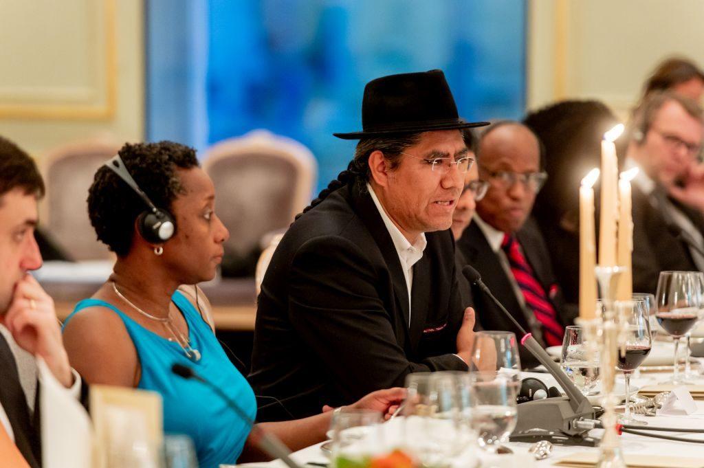 Bolivianischer Außenminister Diego Pary Rodríguez