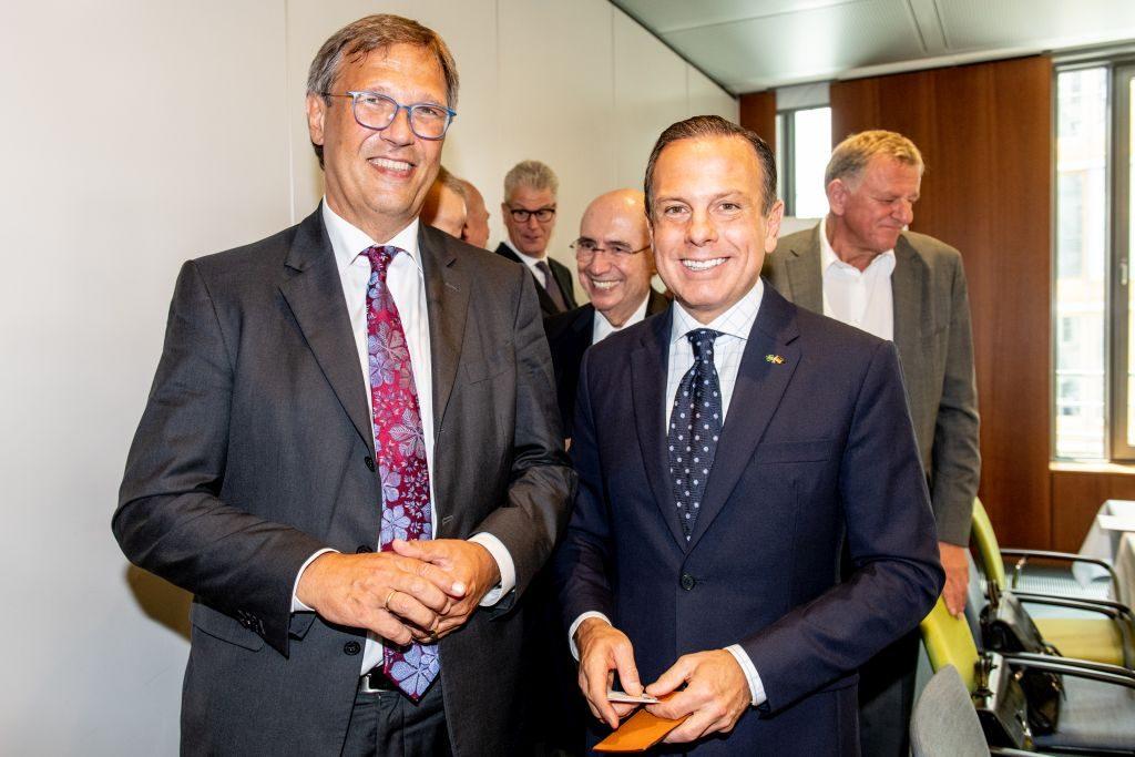 Dr. Stefan Mair and Governor Doria