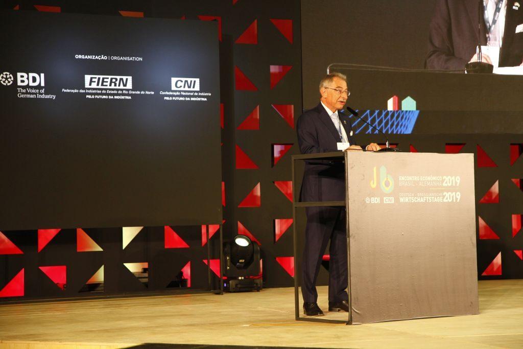 BDI-Präsident Prof. Dieter Kempf
