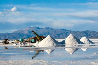 Salzwüste: Salinas Grandes in Argentinien